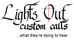 Lights Out Custom Calls Logo